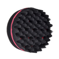 Wholesale hair braiding sponge for sale - Group buy Double Sides Magic Twist Hair Sponge Brush adds texture to hair styling tools hair coil curler afro braid hair wave coil