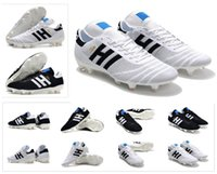 Wholesale soccer shoes limited edition for sale - Group buy 70 Black white red Year New Fg Copa y Limited edition Mens Primeknit Copa Mundial Soccer Football Shoes Boots Cheap Cleats Size