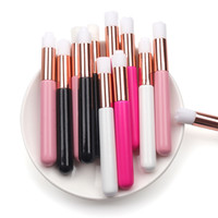 Professional Eyelash Cleaning Brush Nose Blackhead Cleaning Brush Cleanser Washing for Eyelash Extensions Makeup Tools 12 colors