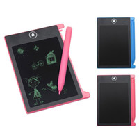 ingrosso tiraggio digitale da tavoletta-New 4.4 pollici LCD Digital Writing Tablet Tavolo da disegno Drawing Pads Graphic Note Board DOM668