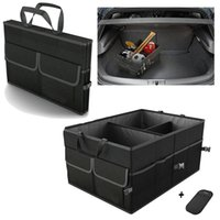 Wholesale New Hot Trunk Cargo Organizer Folding Caddy Storage Collapse Bag Bin for Car Truck SUV