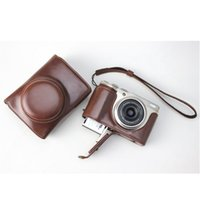 Wholesale case for fuji for sale - Group buy PU Leather Camera Bag Case Cover For Fuji XF10 X F10 Camera Accessories Protective Bag Pouch