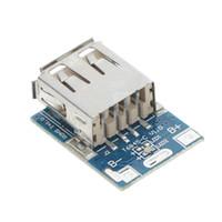 ingrosso bordo di carica al litio-5V 1A 3.7 V Power Bank Charger Circuit Board Caricabatterie Lithium Plate Boost Modulo di ricarica FAI DA TE Per Power Bank