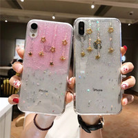 Wholesale star huawei for sale - Group buy Little Star Glitter Case For Iphone X XR XS MAX Luxury Shining Powder Phone Cases For Iphone Plus