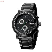 Wholesale big dial watches for women for sale - Group buy relogio masculino mm mens watches top brand luxury Designer automatic White dial full gold stainless steel male clock big watch for men