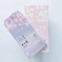 бумажные наборы оптовых-6pcs/set Fantastic Sakura Floral Paper Envelope Gift Wrap DIY Tool Greeting Card Cover Giftbox Decor Letter Writing