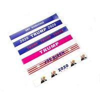 sportförderer großhandel-2020 Donald Trump Armbänder Träne Proof Paper Tyvek Armband Sports wasserdichte Handgelenk-Band Trump Supporters Bangle Neuheit-Einzelteile GGA2143