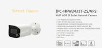 dahua network kamera mermisi toptan satış-Stokta Ücretsiz Kargo DAHUA Güvenlik CCTV IP Kamera 4MP WDR IR Bullet Ağ Kamera POE Ile Logo ile DH-IPC-HFW2431T-ZS