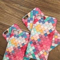 iphone belles couvertures achat en gros de-Belle téléphone cas pour iPhone X XS Max XR 7 8 Plus Soft TUP Silicone Coloré Couverture arrière pour iPhone 6 6S Plus cas de protection