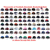 Wholesale baseball cap snaps for sale - Group buy Basketball Snapback Baseball Snapbacks All Team Football Snap Back Hats Womens Mens Flat Caps Hip Hop Snap Backs Cap Cheap Hats