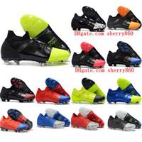 erkekler için çizmeler toptan satış-2019 erkek futbol ayakkabıları Mercurial Greenspeed 360 FG futbol cleats Mercurial Superfly 360 GS Kramponlar de futbol çizmeler chuteira siyah