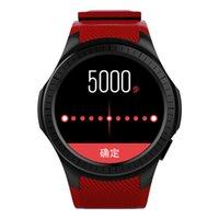 akıllı saatli telefon android wifi toptan satış-L1 Spor Akıllı Izle 2G LTE BT 4.0 WIFI Akıllı Saatler Boold Basınç MTK2503 Giyilebilir Cihazlar İzle Android iPhone iOS Telefon Izle