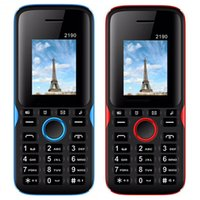 Wholesale torch for phones for sale – best 2190 Cell Phone Dual Sim in Screen MB MB Support GPRS Wap Whatsapp MP3 MP4 Torch light Bluetooth Mobilephone For Child Elderly