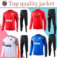 Wholesale sportswear jerseys resale online - Madrid Valencia CF football jacket GAYA Valencia sportswear PAREJO football shirt GAMEIRO RODRIGO Jersey training suit