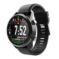 смартфон ip68 оптовых-Kospet Brave 4G LTE Smart Watch Phone Android 6.0 2GB + 16GB 1.3-дюймовый экран Часы IP68 Водонепроницаемый SIM WiFi BT4.0 Артериальное давление