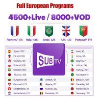 iptv tv großhandel-Erneuern 1 Jahr QHDTV IUDTV Subtv SINOTV Welt Abonnement ES UK US CA Deutsch Arabisch Niederländisch Schweden Französisch Smart TV IPTV M3U android