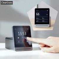 elektrische ferngesteuerte vorhänge groihandel-Xiaomi Youpin ClearGrass Air Monitor Retina Touch-IPS-Bildschirm Mobile Touch Bedienung Innen Außen löschen Gras Luftdetektor