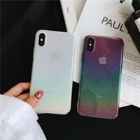 ingrosso gocce di iphone-Colorato gel morbido Goccia di pioggia 3D Pattern Casi Colore Goccia di goccia TPU Phone Cover per iPhone 7 8PLUS XR X MAX