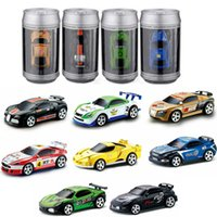 11 rc batterie großhandel-Neue 8 stil mini-racer fernbedienung auto koks kann zip-top kann mini rc funkfernsteuerung micro racing 1:64 auto c