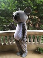 mascotes de urso adulto venda por atacado-alta qualidade koala bear mascot costume para adultos frete grátis