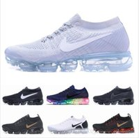 Wholesale mens trainers online for sale - Group buy 2020 Air Maxes Running Shoes for Mens Athletic Trainers Sports Womens Vapormax Black Outdoor Sneakers Walking Shoe Online with