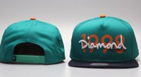 nuevos sombreros de diamante al por mayor-2019 Los diseñadores de moda para hombre de las gorras de béisbol de hueso nuevo diamante Carta gorras bordados Hombres Mujeres Snapback ajustable casquette Sombrero de sol Gorras