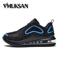 eşsiz erkekler için rahat ayakkabılar toptan satış-VMUKSAN Benzersiz Tasarım Moda Sneakers Erkekler Büyük Boy 39-47 Rahat Erkek Rahat Ayakkabılar Sıcak Satış 2019 Bahar Dantel-Up Düz Ayakkabı # 360548