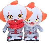 Wholesale clown stuff toy for sale - Group buy 20cm Horror Movies Super Cute Plush IT Pennywise Supercute Collectible joker clown Figure Stuffed Plush Toy kids small gifts