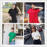 kaufen klassischen hemden großhandel-19 neue vierfarbige Mond klassische Damen T-Shirt, Mode Marke Frauen T-Shirt! Buy Handlevel, Zählerqualität