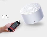 sprachlautsprecher großhandel-AI Portable Version Bluetooth Lautsprecher Smart Voice Control Freisprecheinrichtung Bass Mini-Lautsprecher mit Mikrofon für Telefon 4 Farben