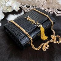kadın moda markaları tasarımcısı el çantası toptan satış-Kadın Çanta Marka Moda Lüks Tasarımcı Çanta kadın Çanta Tasarımcısı kadın Timsah tam deri el çantası çanta tasarımcıları zincir çanta