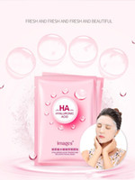 gözenek küçültme maskesi toptan satış-Popüler GÖRÜNTÜLERI HA Nemlendirici Yüz Maskesi Yoğuşmalı Su Yüz Nemlendirici Kore Kozmetik Yüz Maskesi Cilt Bakımı Gözenekleri Küçültmek