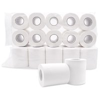 Wholesale White Toilet Tissue Hollow Replacement Roll Paper Clean Prevent Flu Dinner Table Napkins Ply Paper Towels for Daily Use JK1912