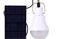 lanternas de jardim recarregáveis solares venda por atacado-Portátil Lâmpada LED Solar Jardim Lâmpada LED Lighting Solar Painel de luz ao ar livre Camping Caminhadas Bulb