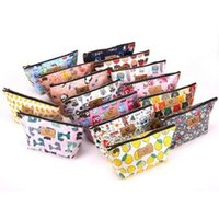 Wholesale pouch for sale - Printing Pattern Women Makeup Bags Waterproof Large Capacity Cartoon Cosmetics Pouchs For Travel Ladies Pouch Cosmetic Bag LJJR240