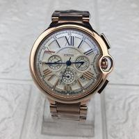 водонепроницаемые часы оптовых-Роскошные часы с тремя часовыми поясами, водонепроницаемые мужские часы Повседневные часы, дизайн мастер-класса, высококачественные мужские военные часы Business Watch Relogio