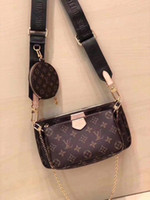 Wholesale beautiful leather lady handbags resale online - beautiful Luxury Women Bags Brand Beach Fashion Ladies PU Leather Shoulder Small Female Messenger Designal Handbags Crossbody