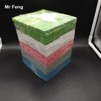 yığın oyunu toptan satış-100 adet Ekstra Uzun Renkli Blokları Stack Up Dev Prim Parke Oyunu Sons Ve Kızları Ile Oynamak (Model Numarası B090)