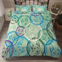 Wholesale wolf animal bedding set king for sale - Group buy BEST WENSD Super Soft comfortable Bedding Set wolf quilt cover set Pillow cover beddengoed set king Animal comforter bed sets