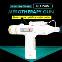 Wholesale mini water guns resale online - Mini Water Mesotherapy Injection Gun Multi Needle Injector for Hair Growth Meso Therapy Gun Beauty Equipment