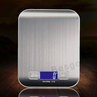 Wholesale balance scales resale online - 5000g g LED Electronic Digital Kitchen Scales Multifunction Food Scale Stainless Steel LCD Precision Jewelry Scale Weight Balance BC BH2897