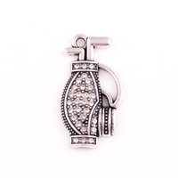 Wholesale golf pendant for sale - Group buy HL0093 Factory direct sales European religious jewelry sports style simple clavicle chain golf bag backpack pendant