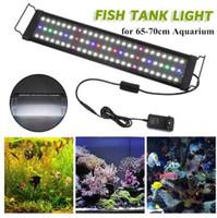 ingrosso cappe d'acquario-Illuminazione per acquario Serbatoio per acquario con vaschette estensibili, bianco e blu, verde, rosa, rosso