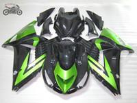 carenados zx14r al por mayor-carenados molde de inyección para Kawasaki Ninja ZX14R 2006 2007 2008 ZX-14 kits 06 07 08 ZX 14R motocicleta de carreras de carretera china carenado