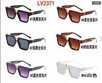 Wholesale italian brand sunglasses for sale - Group buy Hot sale fashion new style square women sunglasses italian brand designer men sun glasses lv2371