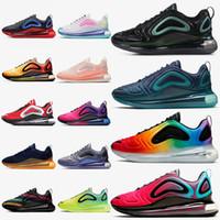 hava yastıklı koşu ayakkabıları toptan satış-nike air max 720 Yastık Koşu Ayakkabıları Sneakers WMNS Ayakkabı Eğitmenler Gelecek Serisi Erkekler Kadınlar Için Sunrise Jüpiter Kabin Venüs Panda Spor Tasarımcısı ayakkabı