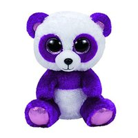 Wholesale stuffed animals bears large resale online - Ty Beanie Boos quot cm Bear panda Large Plush Big eyed Stuffed Animal Collectible Doll Toys for children