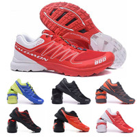 Wholesale best flat boots shoe for sale - 2019 Salomon S Lab Sense M Running Sneakers Best Quality Mens Shoes New Fashion Athletic Running Sports Outdoor Hiking Shoes