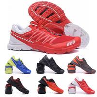 наружные высокие походные туфли оптовых-New Salomon S-Lab Sense M Кроссовки для бега Высококачественная мужская обувь