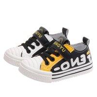 bebekler için düşmüş ayakkabılar toptan satış-Tasarımcı Çocuk Spor Ayakkabı 2019 Bahar Güz Kurulu Ayakkabı Basketbol Sneakers Bebek Kız Erkek Açık Spor Yumuşak Alt Çocuk Ayakkabı B80101